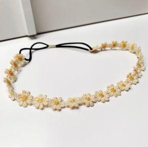 Accessories - Yellow Dainty Flower Headband